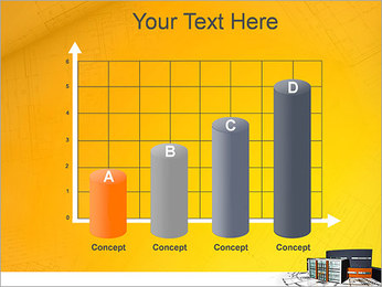 Plano de casa moderna Modelos de apresentações PowerPoint - Slide 21