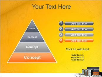 Plano de casa moderna Modelos de apresentações PowerPoint - Slide 22