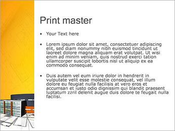 Plano de casa moderna Modelos de apresentações PowerPoint - Slide 24