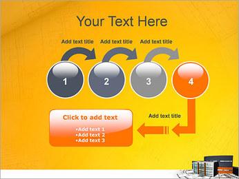 Plano de casa moderna Modelos de apresentações PowerPoint - Slide 4