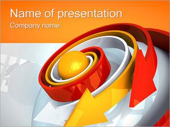 Spiral Arrows PowerPoint Template