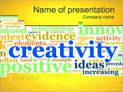 Creativity Tagcloud PowerPoint Templates