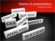 Innovation Words PowerPoint Templates