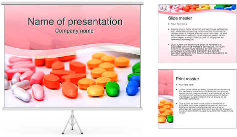 tablets and pills powerpoint template backgrounds id 0000002178. Black Bedroom Furniture Sets. Home Design Ideas