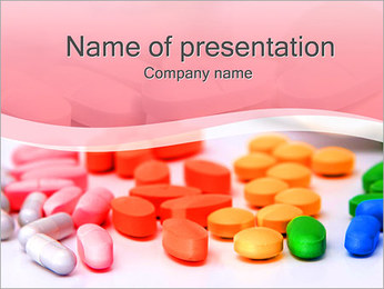 Tablets and Pills PowerPoint Template