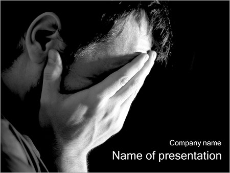 depression powerpoint template backgrounds google slides id