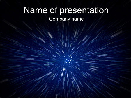 space - powerpoint template - smiletemplates, Powerpoint templates