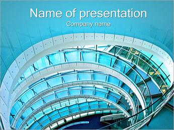 Spiral Staircase Modelos de apresentações PowerPoint - Slide 1