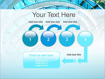 Spiral Staircase Modelos de apresentações PowerPoint - Slide 4