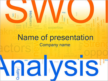 SWOT Analysis Concept PowerPoint Template