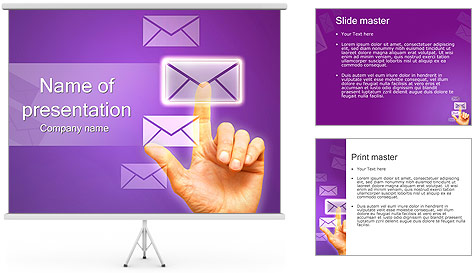 Touch Technology PowerPoint Template
