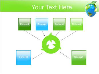 Vert Concept Terre Modèles des présentations  PowerPoint - Diapositives 10