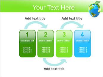 Vert Concept Terre Modèles des présentations  PowerPoint - Diapositives 11