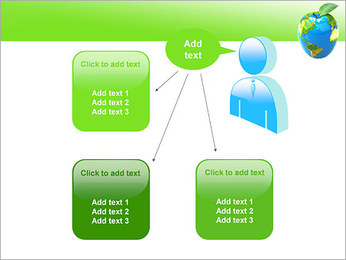 Vert Concept Terre Modèles des présentations  PowerPoint - Diapositives 12