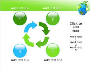 Vert Concept Terre Modèles des présentations  PowerPoint - Diapositives 14