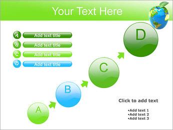 Vert Concept Terre Modèles des présentations  PowerPoint - Diapositives 15