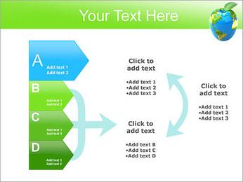 Vert Concept Terre Modèles des présentations  PowerPoint - Diapositives 16