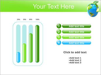 Vert Concept Terre Modèles des présentations  PowerPoint - Diapositives 18