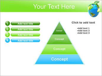 Vert Concept Terre Modèles des présentations  PowerPoint - Diapositives 22