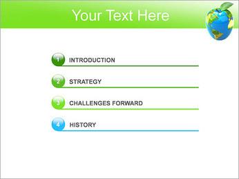 Vert Concept Terre Modèles des présentations  PowerPoint - Diapositives 3