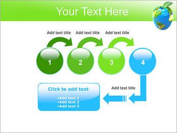 Vert Concept Terre Modèles des présentations  PowerPoint - Diapositives 4