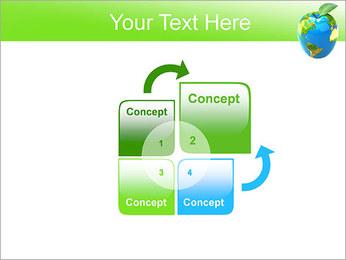 Vert Concept Terre Modèles des présentations  PowerPoint - Diapositives 5