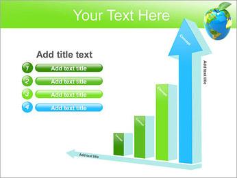 Vert Concept Terre Modèles des présentations  PowerPoint - Diapositives 6