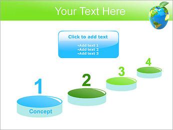 Vert Concept Terre Modèles des présentations  PowerPoint - Diapositives 7