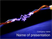Electric Discharge PowerPoint Templates