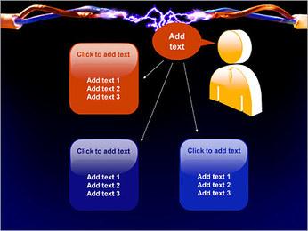 Décharge électrique Modèles des présentations  PowerPoint - Diapositives 12
