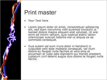 Décharge électrique Modèles des présentations  PowerPoint - Diapositives 24