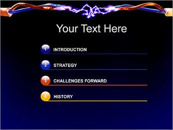Décharge électrique Modèles des présentations  PowerPoint - Diapositives 3