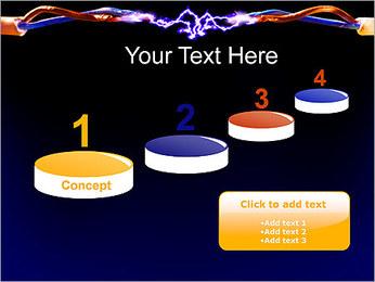 Décharge électrique Modèles des présentations  PowerPoint - Diapositives 7