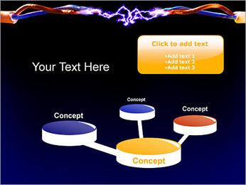 Décharge électrique Modèles des présentations  PowerPoint - Diapositives 9