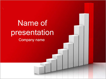 Chart Growth PowerPoint Template