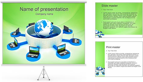 Firewall Protection PowerPoint Template