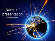 Earth Explosion PowerPoint Templates