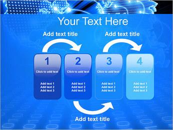 Mapa del Mundo Comunicación Plantillas de Presentaciones PowerPoint - Diapositiva 11