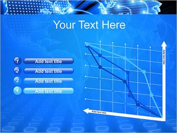Mapa del Mundo Comunicación Plantillas de Presentaciones PowerPoint - Diapositiva 13