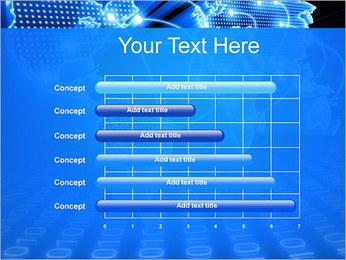 Mapa del Mundo Comunicación Plantillas de Presentaciones PowerPoint - Diapositiva 17