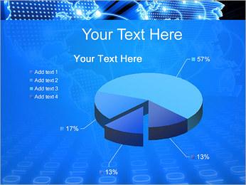 Mapa del Mundo Comunicación Plantillas de Presentaciones PowerPoint - Diapositiva 19