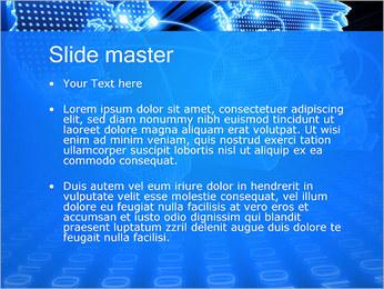 Mapa del Mundo Comunicación Plantillas de Presentaciones PowerPoint - Diapositiva 2