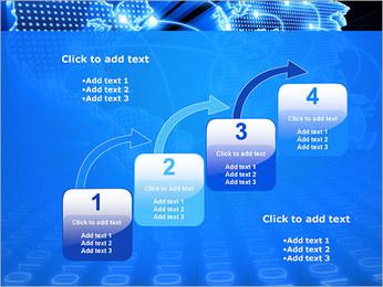 Mapa del Mundo Comunicación Plantillas de Presentaciones PowerPoint - Diapositiva 20