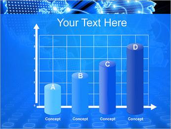 Mapa del Mundo Comunicación Plantillas de Presentaciones PowerPoint - Diapositiva 21