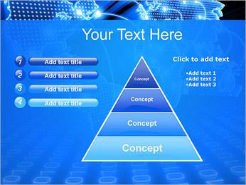 Mapa del Mundo Comunicación Plantillas de Presentaciones PowerPoint - Diapositiva 22