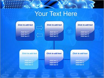 Mapa del Mundo Comunicación Plantillas de Presentaciones PowerPoint - Diapositiva 23