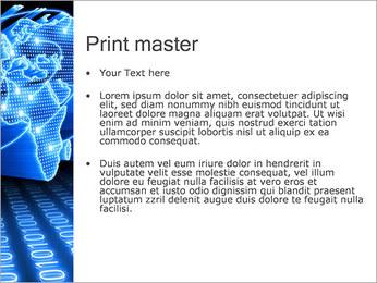 Mapa del Mundo Comunicación Plantillas de Presentaciones PowerPoint - Diapositiva 24