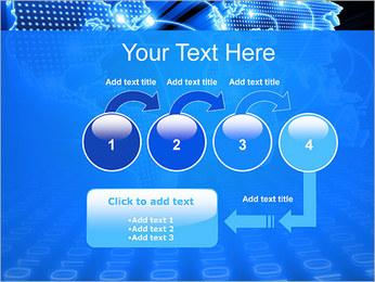 Mapa del Mundo Comunicación Plantillas de Presentaciones PowerPoint - Diapositiva 4