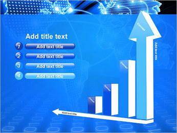 Mapa del Mundo Comunicación Plantillas de Presentaciones PowerPoint - Diapositiva 6