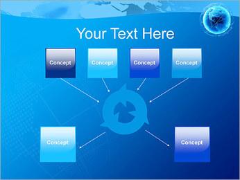 Globo en Web Plantillas de Presentaciones PowerPoint - Diapositiva 10